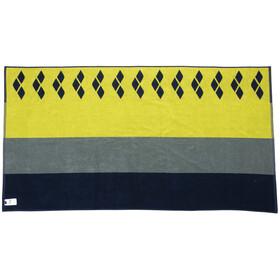 arena Beach Multistripes Towel, azul/Multicolor